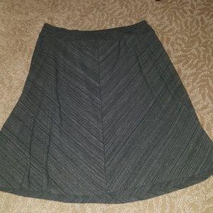 AVA & VIV swingy skirt (1X)